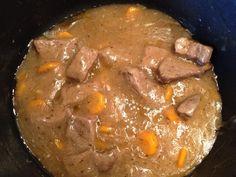 Μοσχάρι λεμονάτο_ με πηχτή σάλτσα_Daddy-cool.gr German Cake, Pot Roast, Pork, Cooking Recipes, Ethnic Recipes, Biscuits, Ss, Carne Asada, Pork Roulade