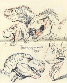 Tyrannosaurus rex 02 by JakeParker on deviantART