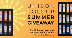 Sign up and share with your friends to earn more chances to win a set of Unison Colour Soft Pastels. Pastel Artwork, Pastel Paintings, Art Movement Timeline, Bird Pencil Drawing, Competition Giveaway, Art Spaces, Sketches Tutorial, Soft Pastels, Abstract Landscape Painting