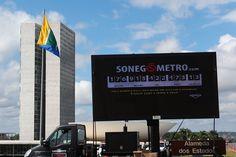 Lançamento do Sonegômetro em Brasília.