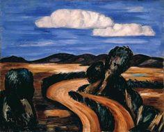 Landscape, New Mexico - Marsden Hartley