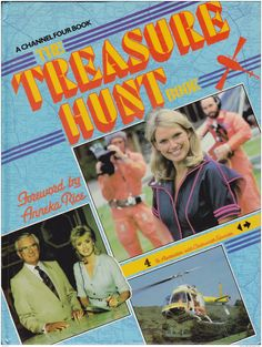 "The Treasure Hunt with Anneka Rice 1986 I would not call this the ""best"" of British TV but it sure represented the times and I admit I watched!(Saw Annika Rice broadcasting today from Millennium Bridge during the Diamond Jubilee Floatilla)"