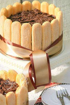 sponge finger Tiramisu cake by Sugar Pot, via Flickr