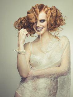 Hair: Sandrine Ruiz Photo: Duy Ha Minh Product: Eugene Perma Professionnel. #MHDLoves