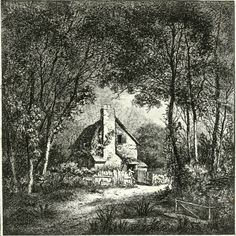 , BURY ST, EDMONDTON, John Thomas Smith's twenty etchings of extravagantly rustic cottages published as Remarks On Rural Scenery Of Various Features & Specific Beauties In Cottage Scenery in 1797