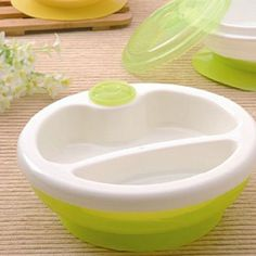 Food Warming Plate Injection Hot Water Insulation Cup Children's Food Dishes Dinnerware Bowl Baby Feeding Tableware T0005