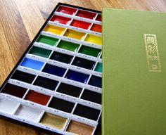 Liz McGuire: Buttons for Brains – WooHoo....9/5/14  (Product:  Kuretake Gansai Tambi Japanese Watercolour Paint Set from Amazon)