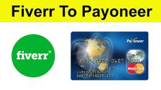 How to Withdraw Money from Fiverr to Payoneer Online Earning, Money, Youtube, Silver, Youtubers, Youtube Movies
