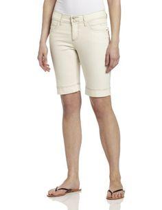Lee Women's Slender Secret Cleopatra Bermuda Lee. $29.90. Close fit. Machine Wash. Stretch slub colored denim. 10 inch inseam. Ultra stretch fabric that retains it's shape all day. 98% Cotton/2% Spandex. Made in China
