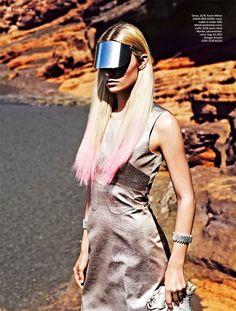 Image of Paul Smith Captures Sci-fi Fashion for Stylist Magazine Space Fashion, High Fashion, Fashion Design, Fashion Trends, Fashion Women, Hussein Chalayan, Raver Girl, Punk Girls, Paul Smith