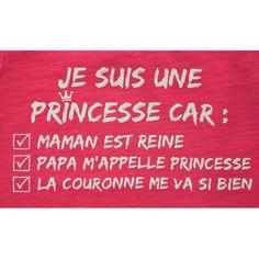 In that case .... I'm a princess!!   Lol!   Aline ♥