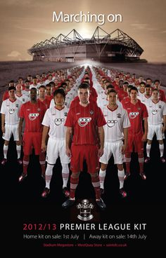 Southampton FC New Kit launch - im undecided yet!!