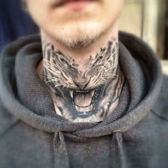 Tiger Tattoos for Men: Tiger tattoo can be the best choice if you love animal-inspired tattoo. These tattoo designs liked by both men and women. Best Neck Tattoos, Inner Arm Tattoos, Girl Arm Tattoos, Stomach Tattoos, Body Tattoos, Thigh Tattoos, Crown Tattoos, Tatoos, Tribal Tiger Tattoo