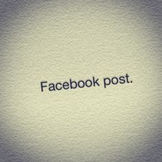 Pinstagram 'Facebook post'