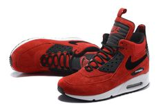sneakers for cheap c7103 8dbc8 nike air max 90 sneakerboot red - Google Search