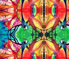 I'll Fly Away fabric by mikiemoo on Spoonflower - custom fabric