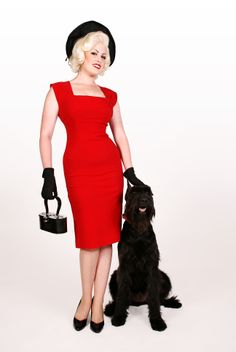 And this is Ella in Red. I love the twist on the shoulder. Beautiful and classy!
