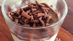 Mousse de Leite Ninho Dog Food Recipes, Cereal, Oatmeal, Low Carb, Pudding, Sweets, Candy, Eat, Breakfast