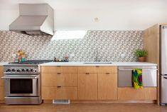 Plywood kitchen cabinets - Veneer Designs