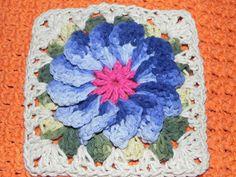 LiliArteira*Ü*ElianaTorres: Flores de Crochê em Barbante
