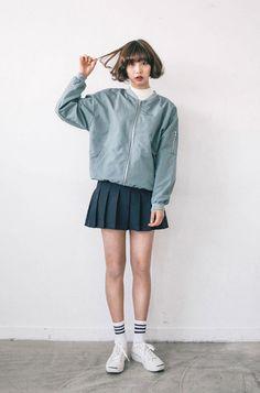 """""""spring color ma-1 jacket (BLUE) 54,500원"""""""