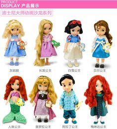 [США Подлинный] Disney Disney / Disney аниматор Шарон Белоснежка кукла так целый абзац выборы - Taobao