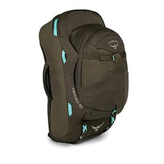 Osprey Fairview 55 travel rucksack for women in Misty Grey! Osprey Backpacks, Cool Backpacks, Casual Backpacks, Eagle Creek, Travel Packing, Travel Backpack, Backpacking Europe, Travel Usa, Travel Bags