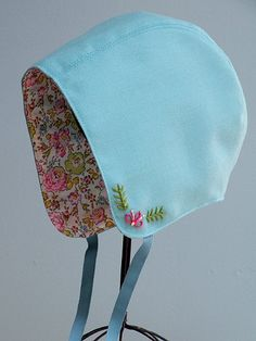 baby bonnet pattern@jenlauraleonard