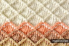 crochelinhasagulhas: Ponto textura em crochê
