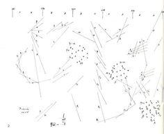 Pithoprakta :: Iannis Xenakis . Galaxies de sons (1956)  (via...