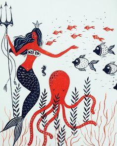 Mermaid by mirdinara