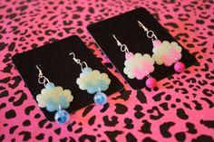 Cupcake Perler bead earrings by princessk