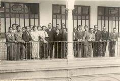 Carmen Conde    Carmen Conde con Amanda Junquera en la Universidad de Murcia, 23 de mayo de 1936
