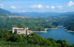 CASTEL CLES e LAGO DI S. GIUSTINA - Trentino, Italy