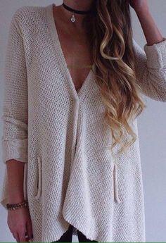 #sweater #cardigan #white