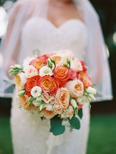 Blood orange peony and rose wedding bouquet: Floral Design: Damselfly Designs - http://www.stylemepretty.com/portfolio/damselfly-designs Event Planning: Mauis Angels - http://www.stylemepretty.com/portfolio/mauis-angels Venue: Olowalu Plantation House - http://www.stylemepretty.com/portfolio/olowalu-plantation-house   Read More on SMP: http://www.stylemepretty.com/destination-weddings/2017/02/15/paradise-hawaiian-wedding/