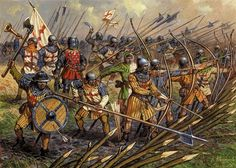 Archers in battle, end of 13th ?