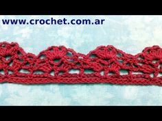 Flor N° 15 en tejido crochet tutorial paso a paso. - YouTube