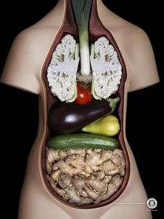 """""""Vegetables are all your body needs"""", a brilliant ad campaign by JWT for the International Vegetarian Union, which promotes vegetarianism worldwide."""