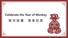 Happy Luna New Year! #chinesenewyear #2016 #card #holidays #design