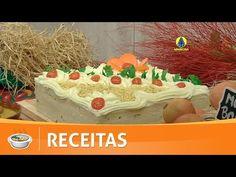 Santa Receita | Aprenda a fazer um delicioso bolo salgado com chantilly de batata! - 01 de julho - YouTube