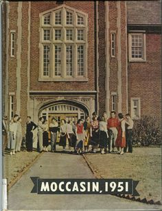 1951 Moccasin Yearbook, University of Chattanooga, UTC. See more old yearbooks at http://digital-collections.library.utc.edu/cdm/landingpage/collection/p16877coll3