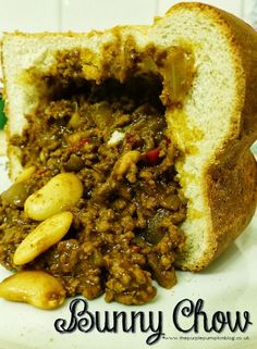 South African Bunny Chow #Curry