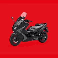 Yamaha Tmax  Si te gusta mis trabajos, Sígueme. If you like my artworks, Follow me.  #yamaha #tmax #yamahatmax #tmax530 #yamahatmax530 #instamoto #motoyamaha #alvarodintenmoto #moto #motocicleta #motocycle #motorbike #diseño #dibujo #draw #drawing #design #530 #red #yamahamoto