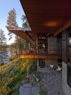 Lake Cottage Deck