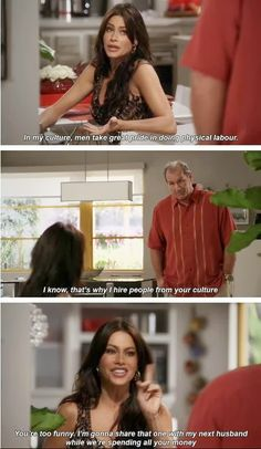 Battle Of Shows: 14 funny pictures from Modern Family! In my culture Modern Family Funny, Modern Family Quotes, Modern Family Gloria, Look At You, Just For Laughs, Favorite Tv Shows, The Funny, Make Me Smile, Just In Case