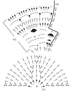 """Sea Glass - Chaqueta en ganchillo DROPS trabajada en un círculo con patrón de calados, en """"Merino Extra Fine"""". Talla: S – XXXL. - Free pattern by DROPS Design"""