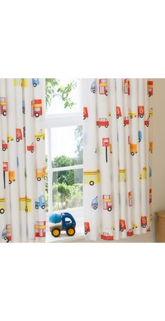 ASDA Blue Transport Curtains - 54 x 66ins | Curtains and Rugs ...