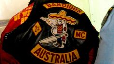 bandios.com | One of the Bandidos bikies arrested after the raid. Photo: Police ...