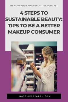 """There is a massive impact on the earth from hard-to-recycle cosmetic packaging, as well as ingredients in the products that aren't just harmful to the planet (particularly aquatic and marine life) but also to us! It really all comes down to self-regulation and making """"cleaner"""" choices can help preserve us and the earth. Gifts For Makeup Lovers, Self Regulation, Cosmetic Packaging, Drugstore Makeup, Marine Life, Stocking Stuffers, Best Makeup Products, Preserve, Gift Guide"""